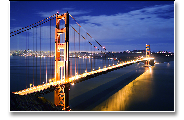 Golden Gate from Above, San Francisco - Photograph copyright Stephen Boyle