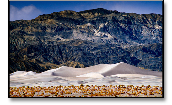 Death Valley Dunes - Photograph copyright Stephen Boyle